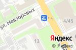 Схема проезда до компании Салон подарочных картин в Нижнем Новгороде