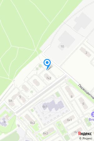 Дом 7 корп. 2 по ул. Цветочная, ЖК Цветочный на Яндекс.Картах