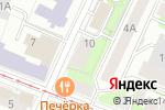 Схема проезда до компании Центр Обл Доставки в Нижнем Новгороде