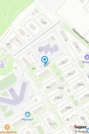 ЖК Цветы, Первоцветная ул., 6, корп. 2 на Яндекс.Картах