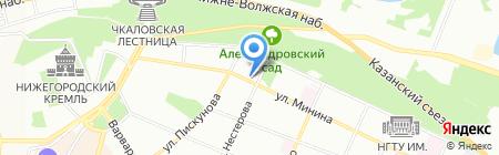 Греко-мания на карте Нижнего Новгорода