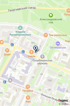 АГЕНТСТВО НЕДВИЖИМОСТИ ГОРОДСКОЕ КОЛЬЦО на карте Нижнего Новгорода