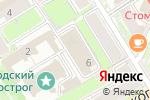 Схема проезда до компании Newport в Нижнем Новгороде