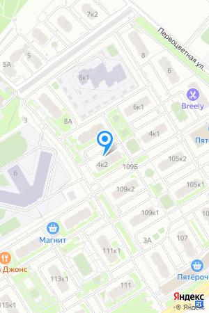 ЖК Цветы, Первоцветная ул., 4, корп. 2 на Яндекс.Картах