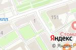 Схема проезда до компании Vis-a-vis в Нижнем Новгороде