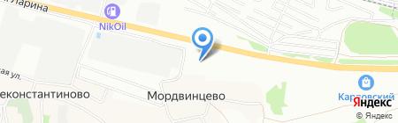Банкомат ЮниКредит Банк на карте Нижнего Новгорода