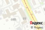 Схема проезда до компании АКБ-НН в Нижнем Новгороде