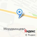 Банкомат на карте Нижнего Новгорода