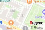 Схема проезда до компании Парус в Нижнем Новгороде