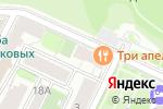 Схема проезда до компании Адель в Нижнем Новгороде