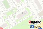 Схема проезда до компании Воздушные шары от Шартуа в Нижнем Новгороде