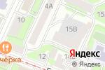 Схема проезда до компании Волжский откос в Нижнем Новгороде