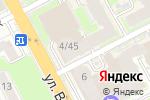 Схема проезда до компании Оттенки в Нижнем Новгороде