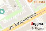 Схема проезда до компании Булочная №1 в Нижнем Новгороде
