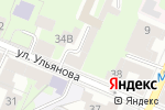 Схема проезда до компании Энергоавтоматика в Нижнем Новгороде