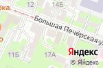 Схема проезда до компании Чалита в Нижнем Новгороде