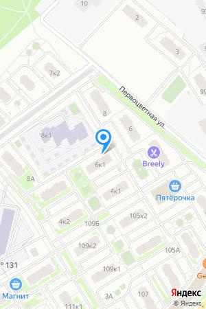 ЖК Цветы, Первоцветная ул., 6, корп. 1 на Яндекс.Картах