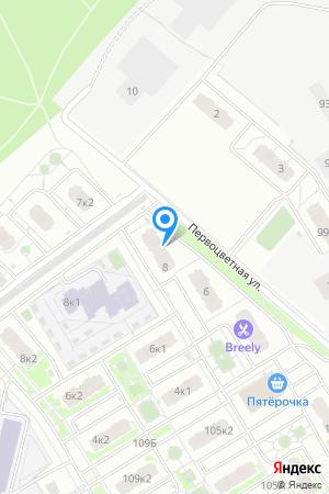 ЖК Цветы, Первоцветная ул., 8 на Яндекс.Картах