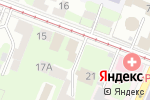 Схема проезда до компании АКБ Лесбанк в Нижнем Новгороде