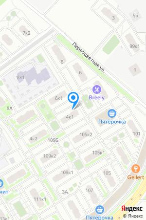 ЖК Цветы, Первоцветная ул., 4, корп. 1 на Яндекс.Картах