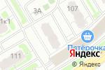 Схема проезда до компании Строймаркет в Нижнем Новгороде