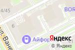 Схема проезда до компании GeoMetriA в Нижнем Новгороде