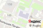 Схема проезда до компании Биг Топ в Нижнем Новгороде