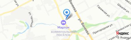 Монтаж-Сервис плюс на карте Нижнего Новгорода