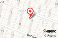 Схема проезда до компании Времена года в Федяково