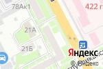 Схема проезда до компании КБ Центр-инвест в Нижнем Новгороде