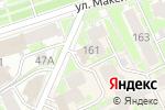Схема проезда до компании НОТА-Банк в Нижнем Новгороде