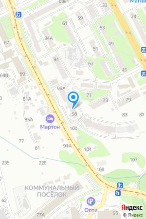 Дом 98 по ул. Ошарская на Яндекс.Картах