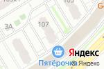 Схема проезда до компании Мозаика в Нижнем Новгороде