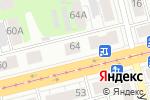 Схема проезда до компании Frou Frou в Нижнем Новгороде