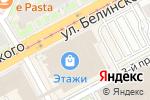 Схема проезда до компании Carla в Нижнем Новгороде