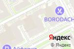 Схема проезда до компании Комфорт в Нижнем Новгороде