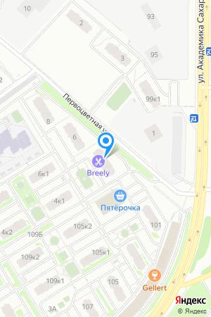 ЖК Цветы, Первоцветная ул., 4 на Яндекс.Картах