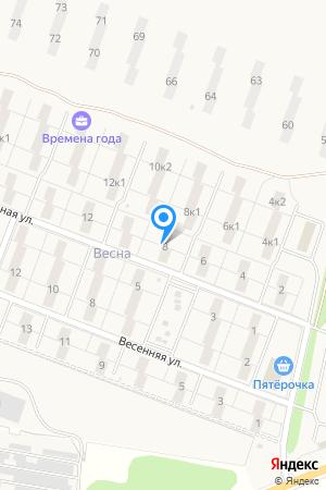 ул. Изумрудная, 8, ЖК Времена Года на Яндекс.Картах