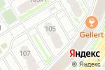 Схема проезда до компании Королевская лилия в Нижнем Новгороде