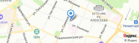 Стройреконструкция на карте Нижнего Новгорода