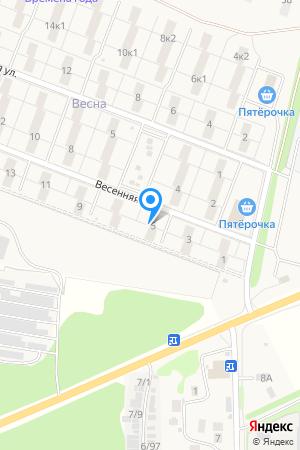 ул . Весенняя , дом 5, ЖК Времена Года на Яндекс.Картах