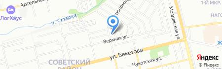 Застолье на карте Нижнего Новгорода