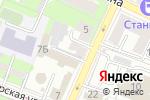 Схема проезда до компании Фауна в Нижнем Новгороде