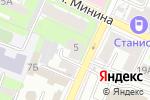 Схема проезда до компании ДИОНИД в Нижнем Новгороде