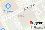 Схема проезда до компании Формула букета и Ко в Нижнем Новгороде