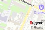 Схема проезда до компании АНКЛАВ в Нижнем Новгороде