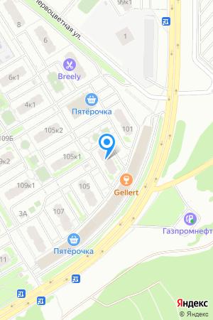 ЖК Цветы, Сахарова ул., 103 на Яндекс.Картах