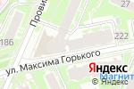 Схема проезда до компании Академия Schwarzkopf Professional в Нижнем Новгороде