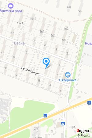 ул. Весенняя, 4, ЖК Времена Года на Яндекс.Картах