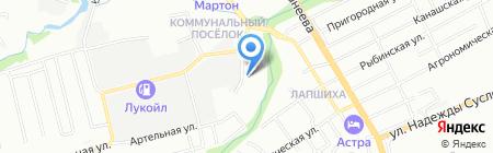 Радио Гигабит на карте Нижнего Новгорода